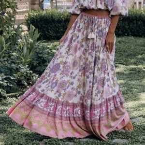 Spell & the Gypsy Buttercup Skirt Meadows NWT M